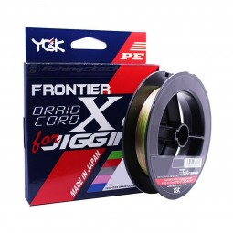 YGK Frontier Braid Cord X8 For Jigging #PE 2.5