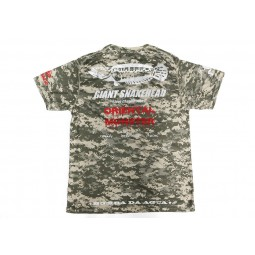Bombada T-Shirt Giant Snakehead Dry Fit Short Sleeve ACU #L