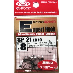 Vanfook Treble Hooks SP-21 Zero #8 *Barbless hooks