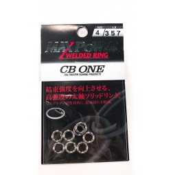 CB ONE MAX Power WELDED Solid Ring Size 4 #357lb