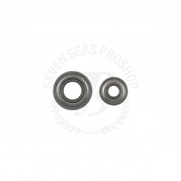 Smooth Drag Ceramic Bearings #5x11x4 3x8x4 mm