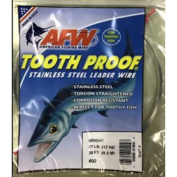 AFW Tooth Proof Stainless S02T-0 #02*สีเงิน