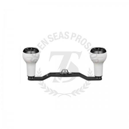 Gomexus Crank Handle for Bait Reel Carbon 95mm Mounting part 8x5mm For Daiwa #DCD95A27WTBK