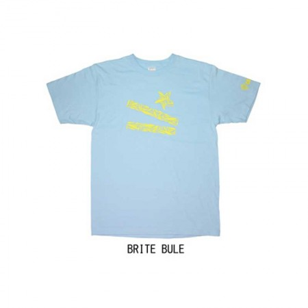 Gan Craft Lucky Lip Lures Tee #Brite Blue-M