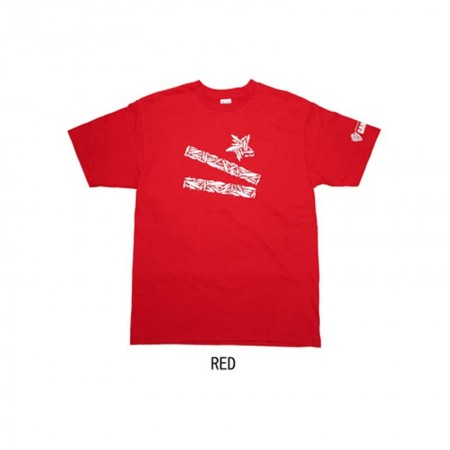 Gan Craft Lucky Lip Lures Tee #Red-M