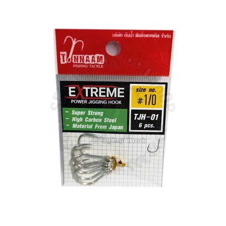 Tonnam Extreme Power Jigging Hook TJH-01 #1/0