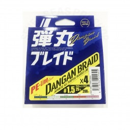 Major Craft DANGAN BRAID X4 Multi-200m PE1.5
