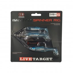 Live Target Bait Ball Spinning Rig 3/8oz #Blue/Silver