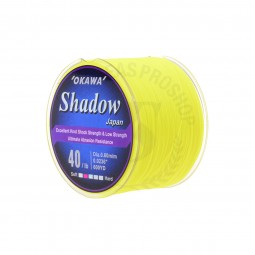 Okawa Shadow 1/4 #40LB 600yd *Yellow