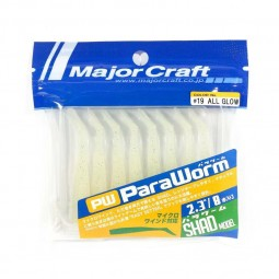 "Major Craft ParaWorm 2.3"" Shad Model #19"