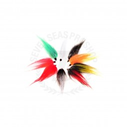 7seas Fly Lure Owner Hook 6 #Multi Color