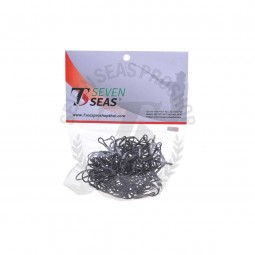 Vanfook Double Hook *100 pcs DW-40B 2/0 stainless #Black
