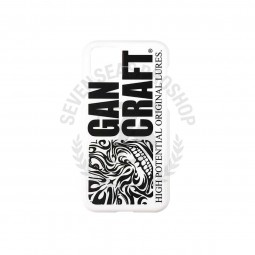 Gan Craft I-Phone 11 Pro Case Logo White