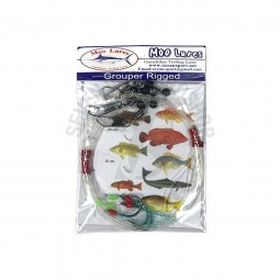 Moo Lure Grouper Rigged Hook size 16