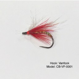 CHERRY BOMB CBVF0001 Fly hook #Size-8