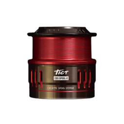 TICT CBS SPOOL-D #Red X GUNMETAL*2327