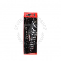 Fish Art Bullet 115mm-22.5g #Black Tiger