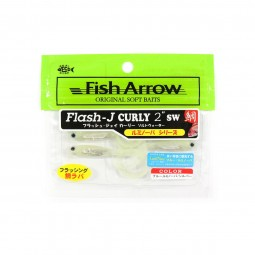 "Fish Arrow Flash-J Curly 2"" SW #L145"