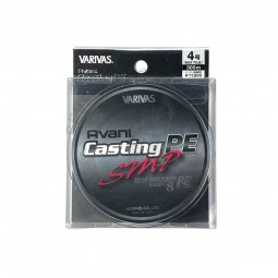 Varivas Avani Casting SMP PE-4-300m (Stealth gray-with marking lines)