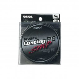 Varivas Avani Casting SMP PE-5-300m (Stealth gray-with marking lines)