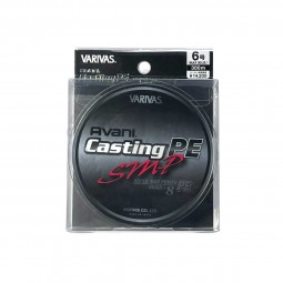 Varivas Avani Casting SMP PE-6-300m (Stealth gray-with marking lines)