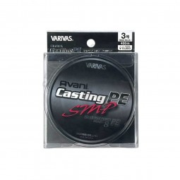 Varivas Avani Casting SMP PE-3-400m (Stealth gray-with marking lines)