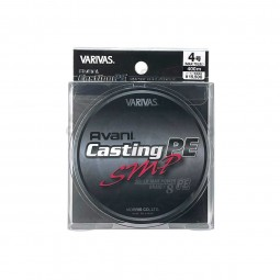Varivas Avani Casting SMP PE-4-400m (Stealth gray-with marking lines)