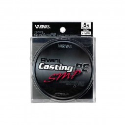 Varivas Avani Casting SMP PE-5-400m (Stealth gray-with marking lines)
