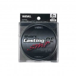 Varivas Avani Casting SMP PE-6-400m (Stealth gray-with marking lines)