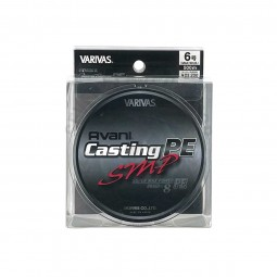 Varivas Avani Casting SMP PE-6-500m (Stealth gray-with marking lines)