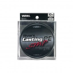 Varivas Avani Casting SMP PE-10-500m (Stealth gray-with marking lines)