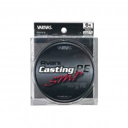 Varivas Avani Casting SMP PE-6-600m (Stealth gray-with marking lines)