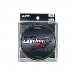 Varivas Avani Casting SMP PE-8-600m (Stealth gray-with marking lines)