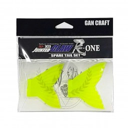 Gan Craft Jointed Claw 303 R Shaku-One Spare Tail #04