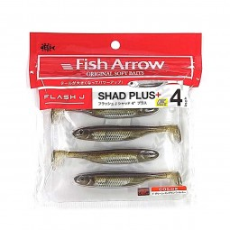 "Fish Arrow Flash-J Shad Plus+ 4"" #F01"