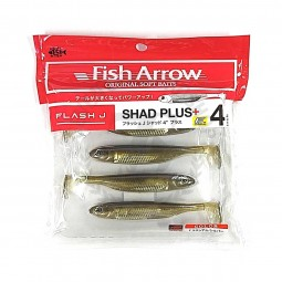 "Fish Arrow Flash-J Shad Plus+ 4"" #F06"