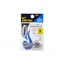 NT Swivel Split Rings Stainless Steel #3