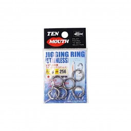 Ten Mouth Jigging Ring Stainless #8