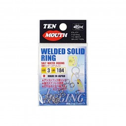 Ten Mouth Welded Solid Ring #3