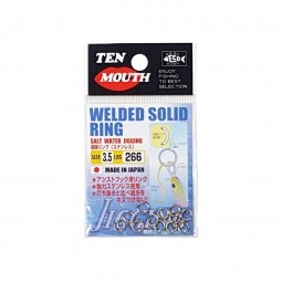 Ten Mouth Welded Solid Ring #3.5