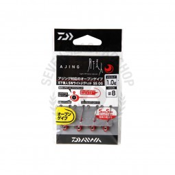 Daiwa Moonlight beauty SW light jig head SS OG #8 (1.0g.)