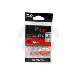Daiwa Moonlight beauty SW light jig head SS #10 (1.5g.)