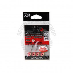 Daiwa Moonlight beauty SW light jig head SS #4 (2.0g.)