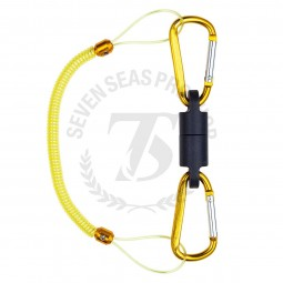 Dai-Ichi Carabiner Holder MG5000 #Yellow