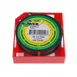 PowerPro Braided Line 100yd #50lb (Red)
