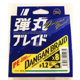 Major Craft DANGAN BRAID X8 150m-Green PE1.2