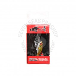 Fish Art Bijou 35mm-1.8g #Orange Fin