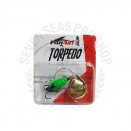 Fish Art Torpedo 6 #FG-Fluorescent Green