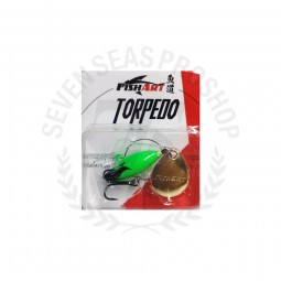 Fish Art Torpedo 12 #FG-Fluorescent Green
