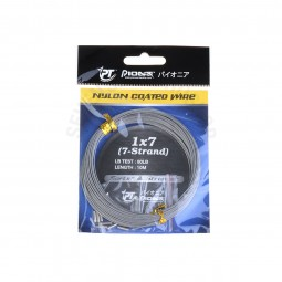 Pioneer 1x7(7-Strand) N/COATED WIRE *W #80lb-W *0372